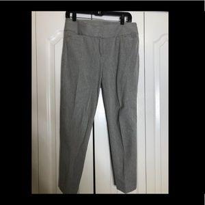 Ann Taylor Loft Gray Julie Skinny pant size 6